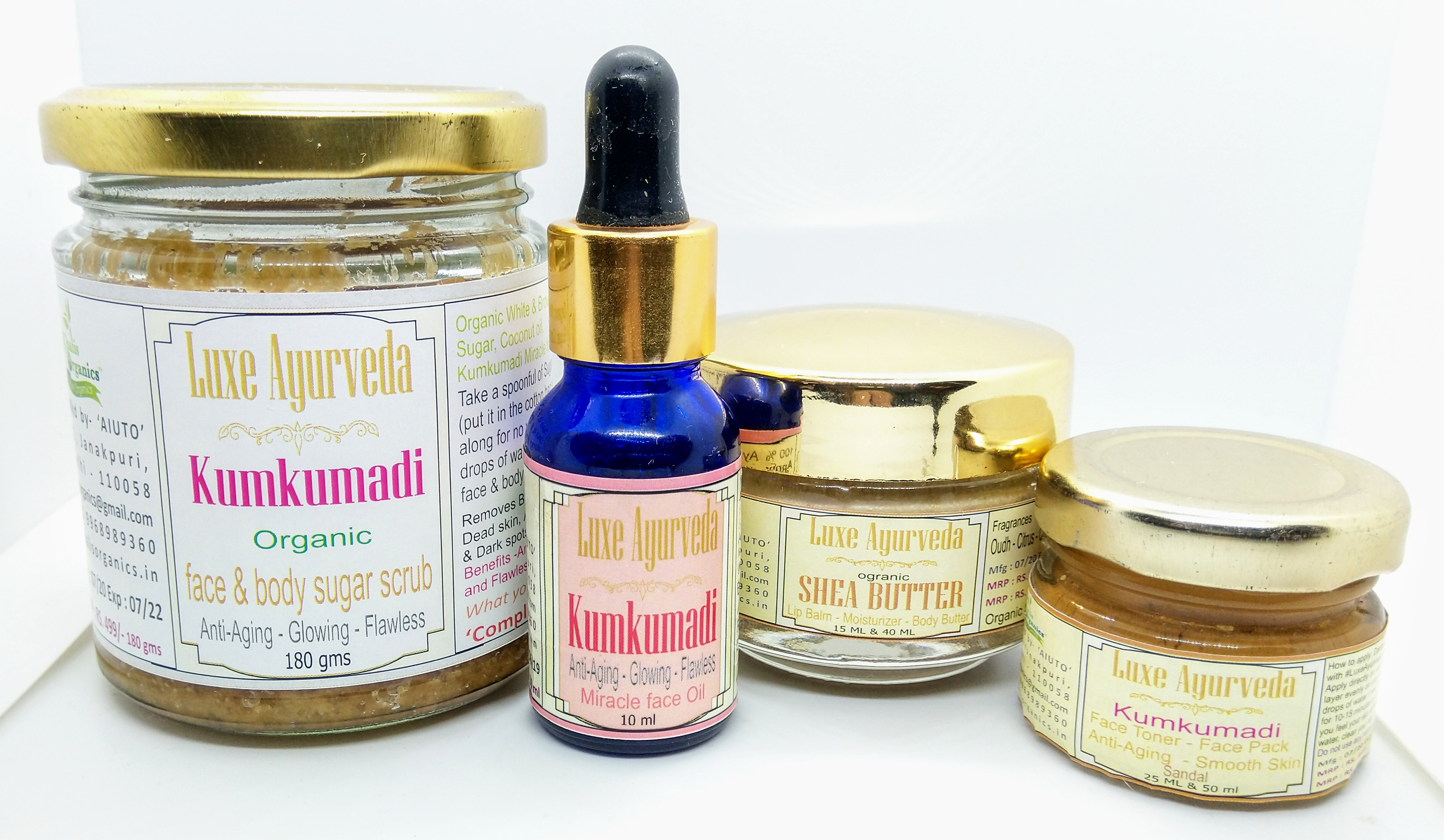 Kumkumadi Beauty essentials